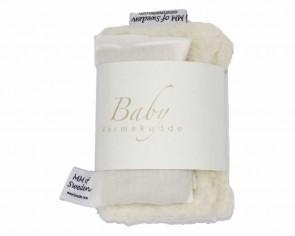 Värmekudde BABY, beige & ekologisk Teddy tyg